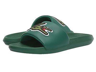 Lacoste Croco Slide 319 4 US (Green/Green) Men