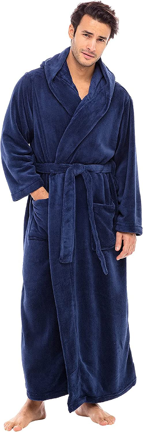 Alexander Del Super sale period limited Rossa Men's Warm Fleece and Hood Credence with Big Robe Ta