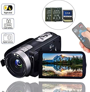 Camcorder Digital Camera with IR Night Vision HD Digital Video Camera 24.0Mega Pixels 18X Digital