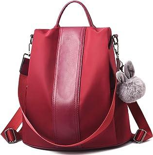 aspetto dettagliato 57b4a 7062c Amazon.it: Rosso - Borse a zainetto / Donna: Scarpe e borse