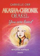 Akasha-Chronik-Orakel: You are loved. 44 Karten mit Buch (160 S.)