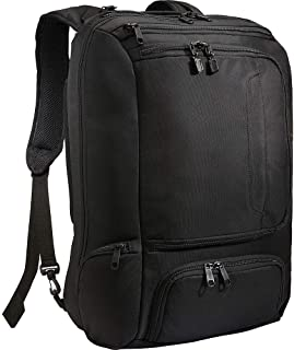 Professional Weekender Carry-On Backpack for Travel & Business - TSA Friendly - Fits 18 Inch Laptop