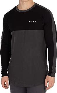 Nicce London Men's Shale Longsleeved T-Shirt, Black