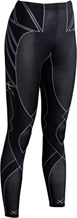 CW-X Women's Mid Rise Full Length Stabilyx Revolution Compression Tights