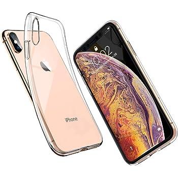 COQUE iPHONE XS MAX ULTRA-FINE SEMI TRANSPARENT SILICONE SEMI-RIGIDE (TPU)