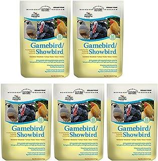 Manna Pro Gamebird Showbird Crumbles, 5 lb (5 pack)