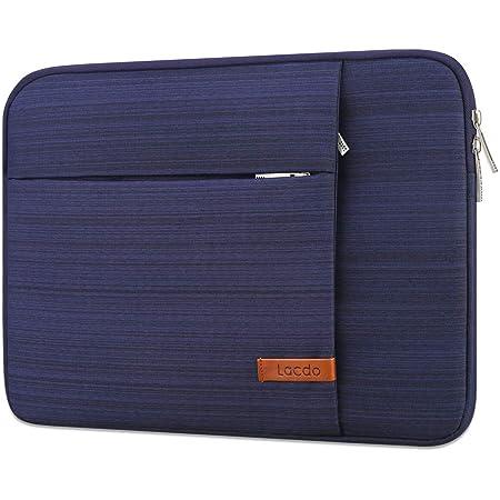 "Lacdo 11インチ Chromebookケースノートパソコンのスリーブ にとって 11.6インチAcerLenovo Asus Samsung Chromebook 3 2 4 | 11.6""Macbook Air | HP Stream/Probook | Dell Inspiron 11 | Surface Pro X 7 6 5コンピューターバッグ、青い"