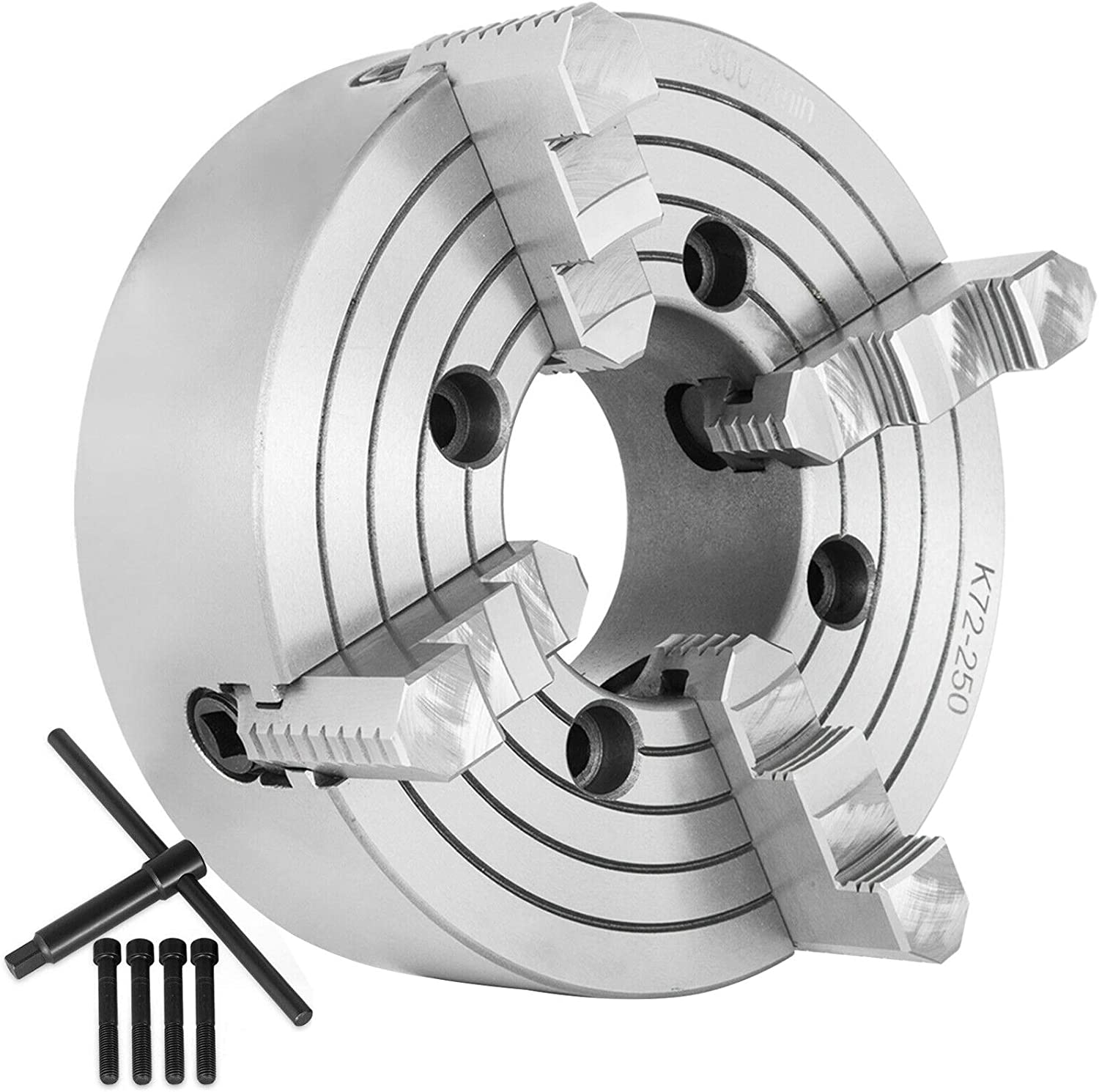 Mophorn K72-250 Lathe Chuck 4-Jaw 10 Inch Independen 55% OFF Don't miss the campaign
