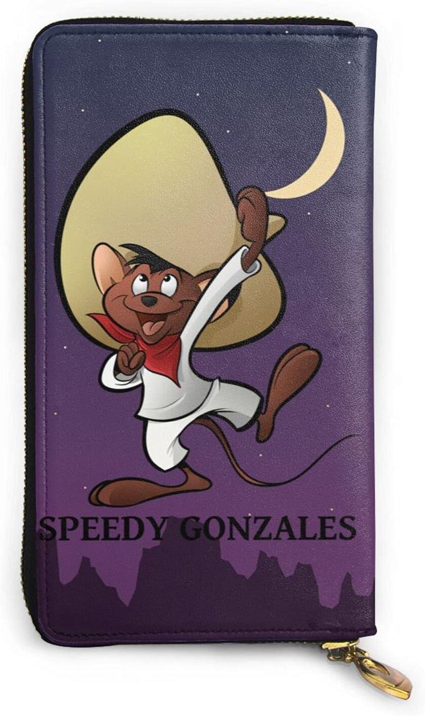 Speedy Gonzales Coin Max 83% OFF Purse Rare Zipper Popular Wallet Cartoon Classic