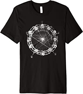 Coltrane Chord Changes Mandala Shirt