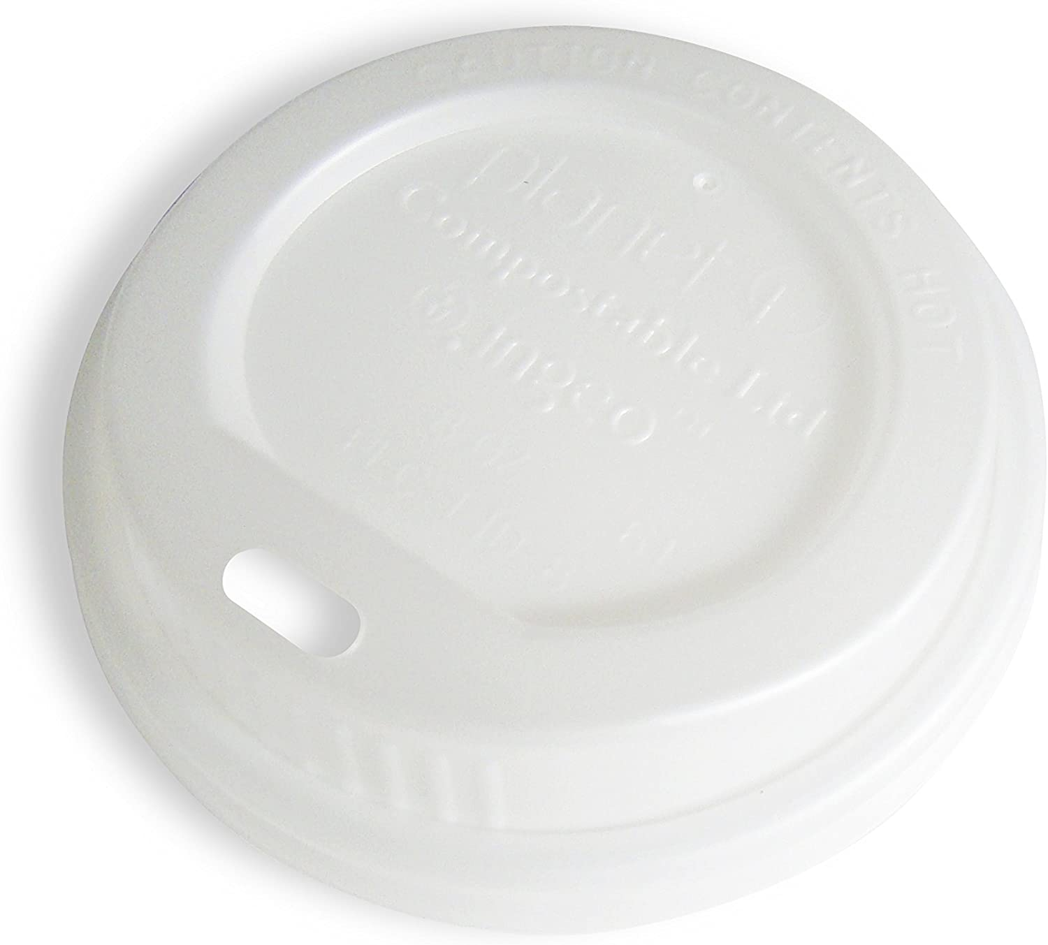 Planet+ 2021 new 100% Compostable PLA Hot outlet Cup 8oz Single-Wall Lid a Fits
