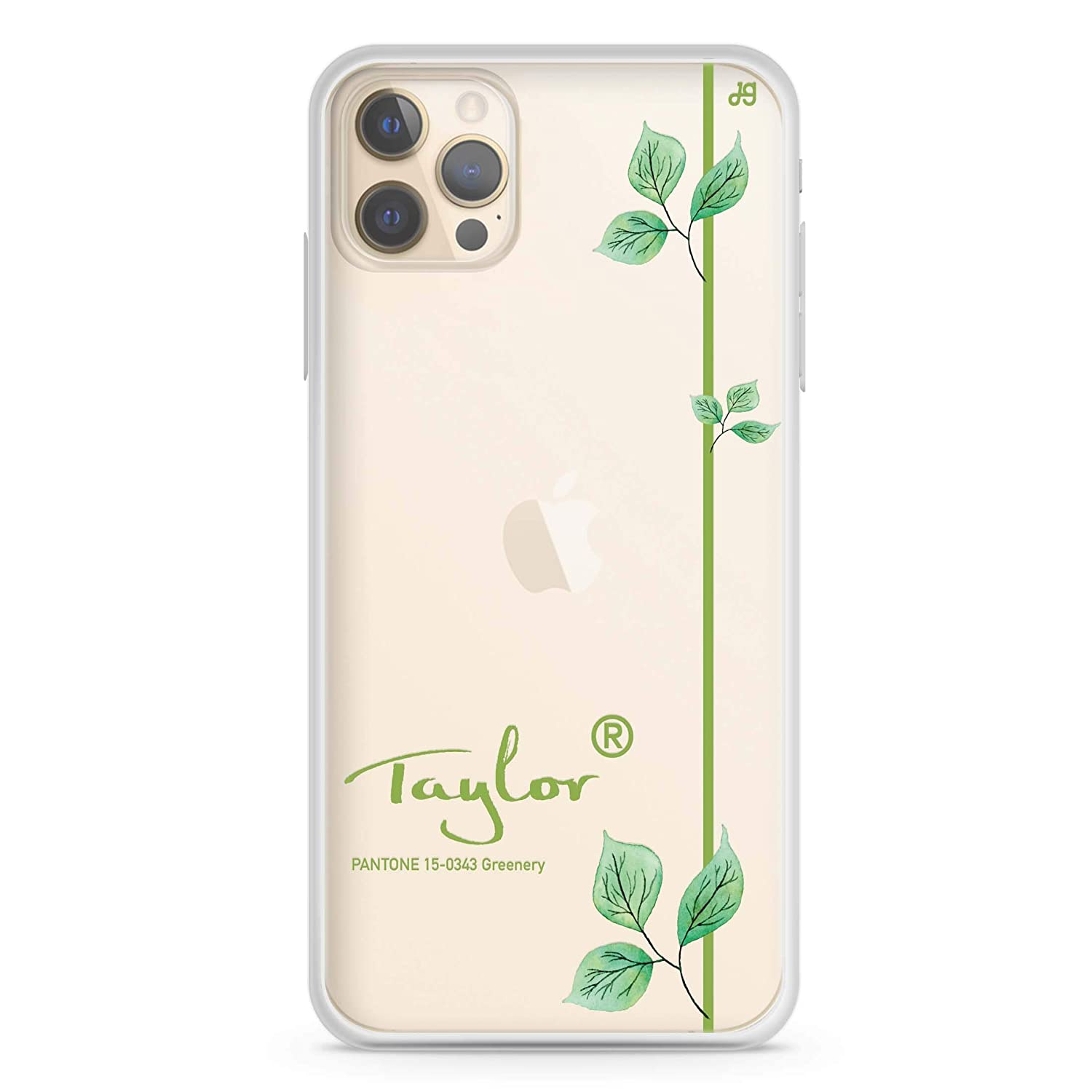 #15-0343 Greenery II Manufacturer direct delivery iPhone Lowest price challenge 12 Pro Case 1 Clear Soft Max