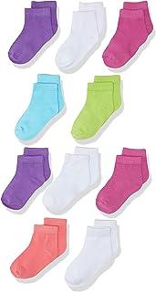 Hanes girls Ankle Socks 10-pack