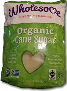 Wholesome Organic Fair Trade Cane Sugar (6lb)