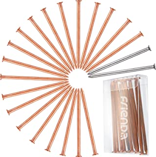 1Kg Solid Copper Nail Clout Head Tree Stump Killer Roofing DIY 4 Sizes Available