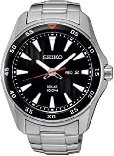 Watch Seiko Solar Sne393p1 Men´s Black