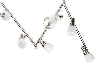 OSRAM - Applique Plafonnier LED - 6 Spots orientables - 6 Ampoules G9 2W Equivalent 20W Incluse - Blanc Chaud 2700K