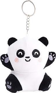 Mr. Wonderful Squishy Plush Keyring-Panda, Multicolor, Talla única