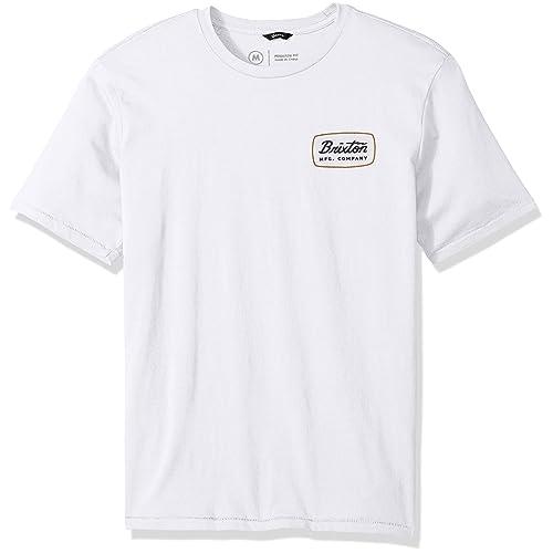4c62e36b298 Brixton Men's Jolt Short Sleeve Premium Fit Tee