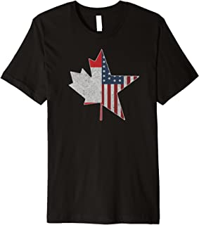 Team North America   USA Canada Connection T Shirt