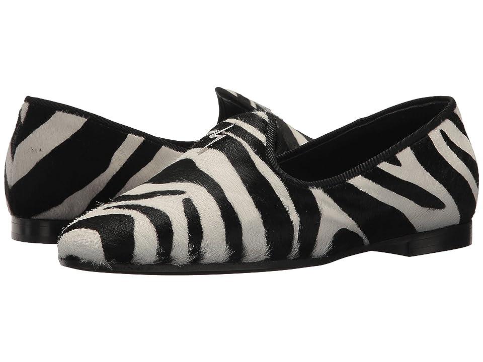 Giuseppe Zanotti E860052 (Zebra Bianco/Nero) Women