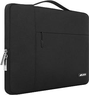 MOSISO Maletín Compatible 2019 2018 MacBook Air 13 A1932 Retina/2019 2018 2017 2016 MacBook Pro 13 USB-C A2159/A1989/A1706/A1708, Poliéster Funda Protectora Multifuncional Bolso, Negro