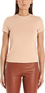 Luxury Fashion | Theory Womens J0424512SQG Beige T-Shirt | Autumn-Winter 19