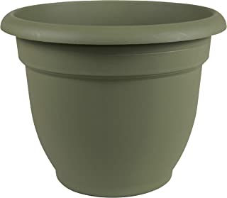 Bloem 20-56420 Fiskars 20 Inch Ariana Planter with Self-Watering Grid, Thyme, Living Green