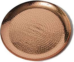 Alchemade Copper Metallic 13 inch Decorative Charger Plate