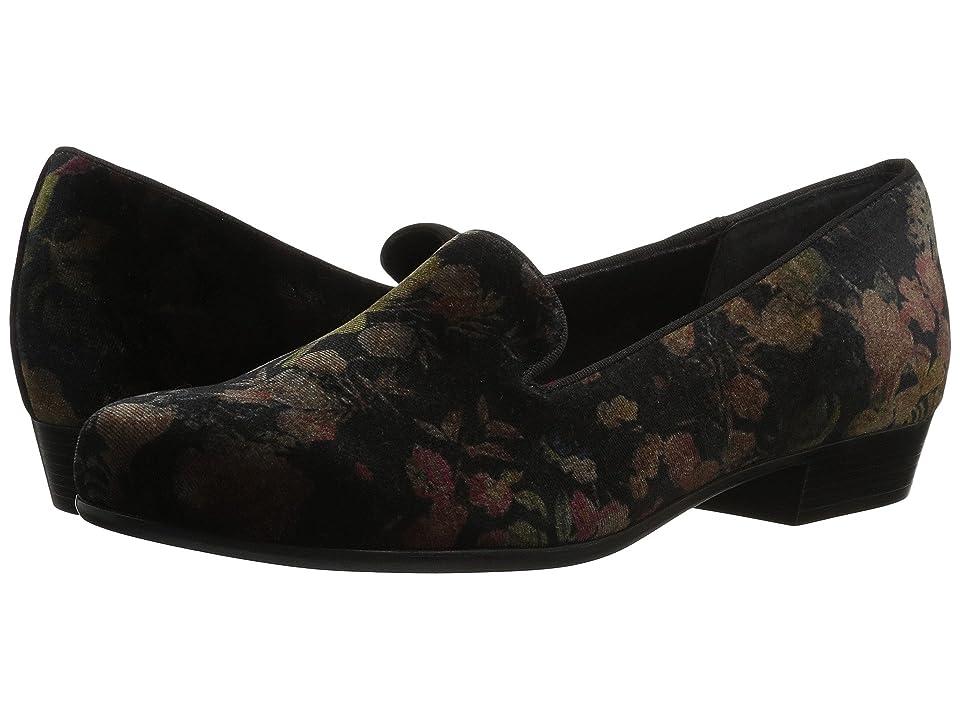 Munro Cerise (Floral Velvet) Women