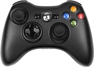 PowerLead Manette De Jeu,Nouveau contrôleur de Jeu de télécommande sans Fil pour Microsoft Xbox 360 PC Windows 7 XP Whit J...