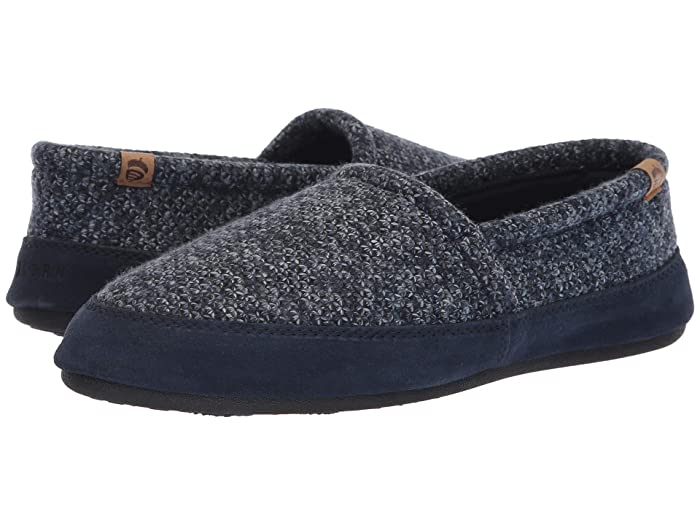 Acorn   Moc (Navy Tweed) Mens Shoes