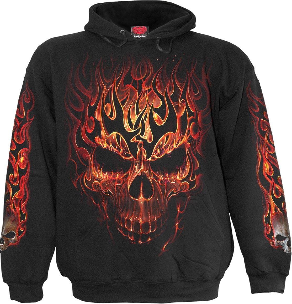 Spiral - Skull Blast M Black Hoody cheap Kids Minneapolis Mall