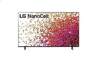 تليفزيون سمارت 55 بوصة نانوسل بتقنية المدى الديناميكي العالي 4K وتقنية ThinQ AI ونظام تشغيل WebOS من ال جي - 55NANO75VPA