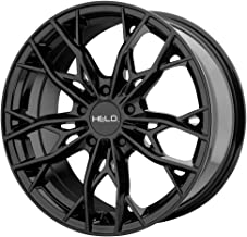 HELO HE907 Gloss Black Wheel Chromium (hexavalent compounds) (18 x 8. inches /5 x 72 mm, 40 mm Offset)