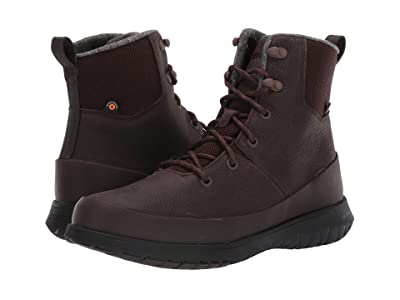 Bogs Freedom Lace Tall (Dark Brown) Men