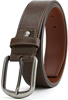 "Gurscour Men's Belts Business Leather Belt for Men 1.5""(38mm) Width"