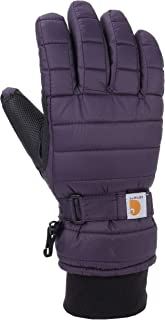 دستکش مخصوص زنان Carhartt از دستکش قابل تنفس با درج ضد آب ضد آب عایق بندی شده است