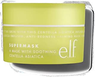 e.l.f, SuperMask, Rich, Soothing, Anti-Redness, Sensitive, Gel Formula, Calms Skin, Locks In Moisture, Plumps, Protects, R...
