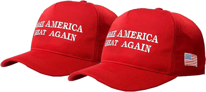 KKMKSHHG Unisex Make America Great Again Hat, USA MAGA Cap Adjustable Baseball Hats