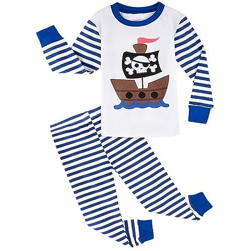 A/&J DESIGN Kids Boys Pajamas Set 100/% Cotton Sleepwear