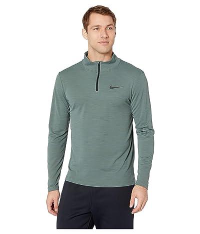 Nike Superset Top Long Sleeve 1/4 Zip (Mineral Spruce/Black) Men