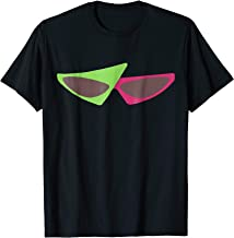 80s Green and Pink Sunglasses T-Shirt