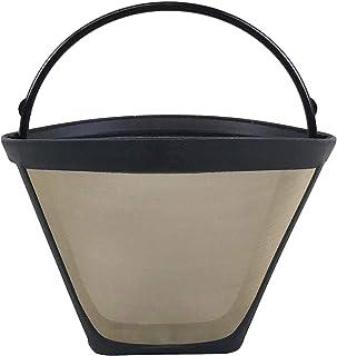 Zmywalny i wielokrotnego użytku filtr do kawy z stożkiem pasuje do sprytnych kapaczy do kawy, zaprojektowany i zaprojektow...