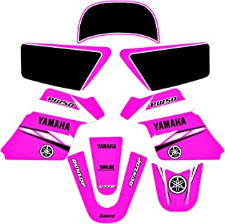 YAMAHA PW 50 PW50 GRAPHICS KIT DECALS DECO Fits Years...