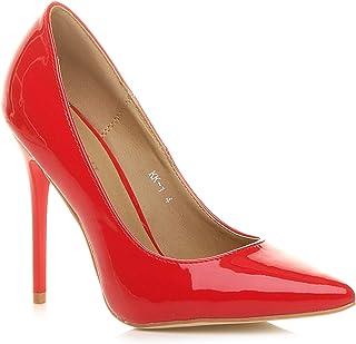 migliore a buon mercato 9e910 994d3 Amazon.it: decolletè rosse: Scarpe e borse