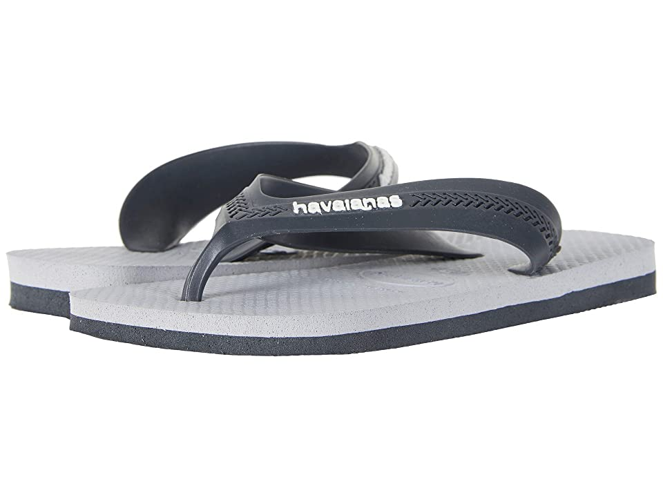 Havaianas Kids Max (Toddler/Little Kid/Big Kid) (New Graphite/Ice Grey) Boys Shoes