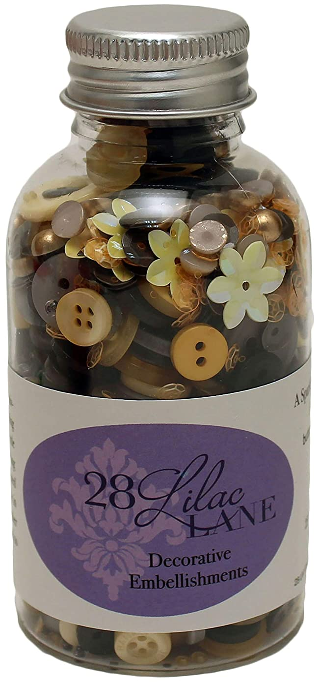 Buttons Galore Queen Bee Scrapbook Embellishment Bottle