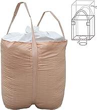 Jumbulk Duffle Top, Spout Bottom FIBC Bulk Bag, SWL 2200lbs @ Safty Factor 5:1, 35