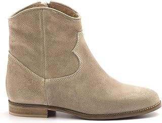 varios tamaños KEB - Internal Wedge Keb Ankle botas in in in Taupe Suede - 090PLUM Taupe  respuestas rápidas